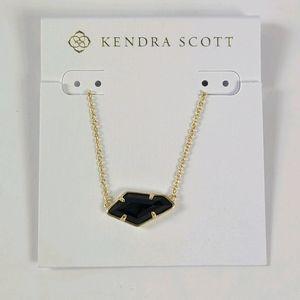 KENDRA SCOTT Black Gold Lilith Necklace